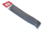 Silver/Grey Cable Ties (pack of 100) 380mm (approximately  15 inches)