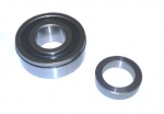 Rear Wheel Bearing & Locking Ring